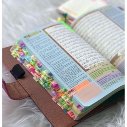 Al-Quran Tagging Humaira A5 size - Khatam Tracker (Nafeesa 318 Tagging)