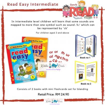 Read Easy Intermediate Level Books