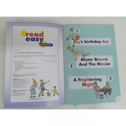 Read Easy Advance Level Books