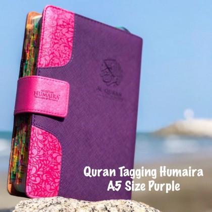 Al-Quran Tagging Humaira A5 size - Khatam Tracker (Safeeya 503 Tagging)