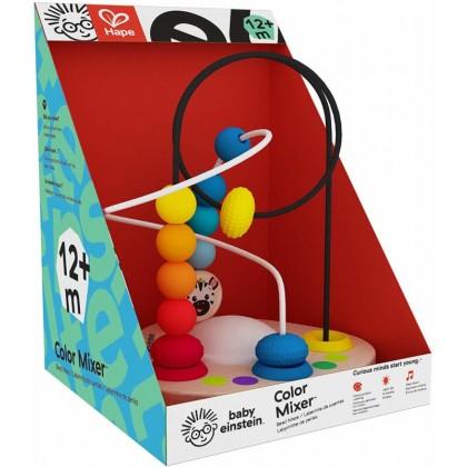 Hape Color Mixer Wooden Bead Maze Baby Einstein